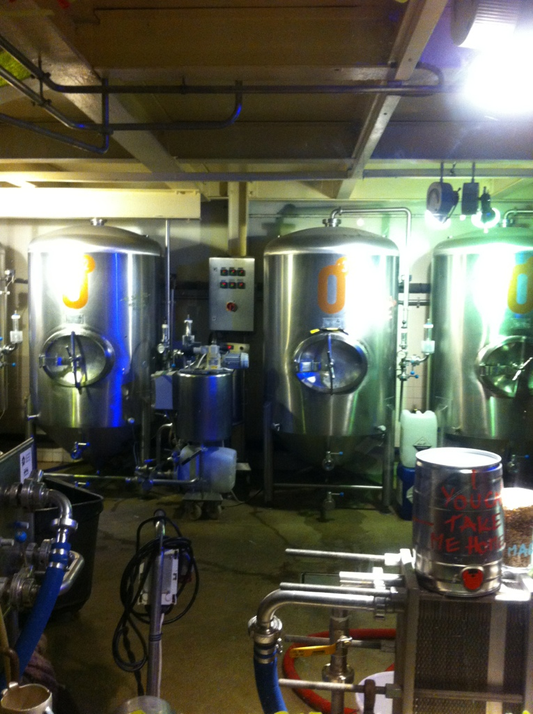 The brewery at zero degrees