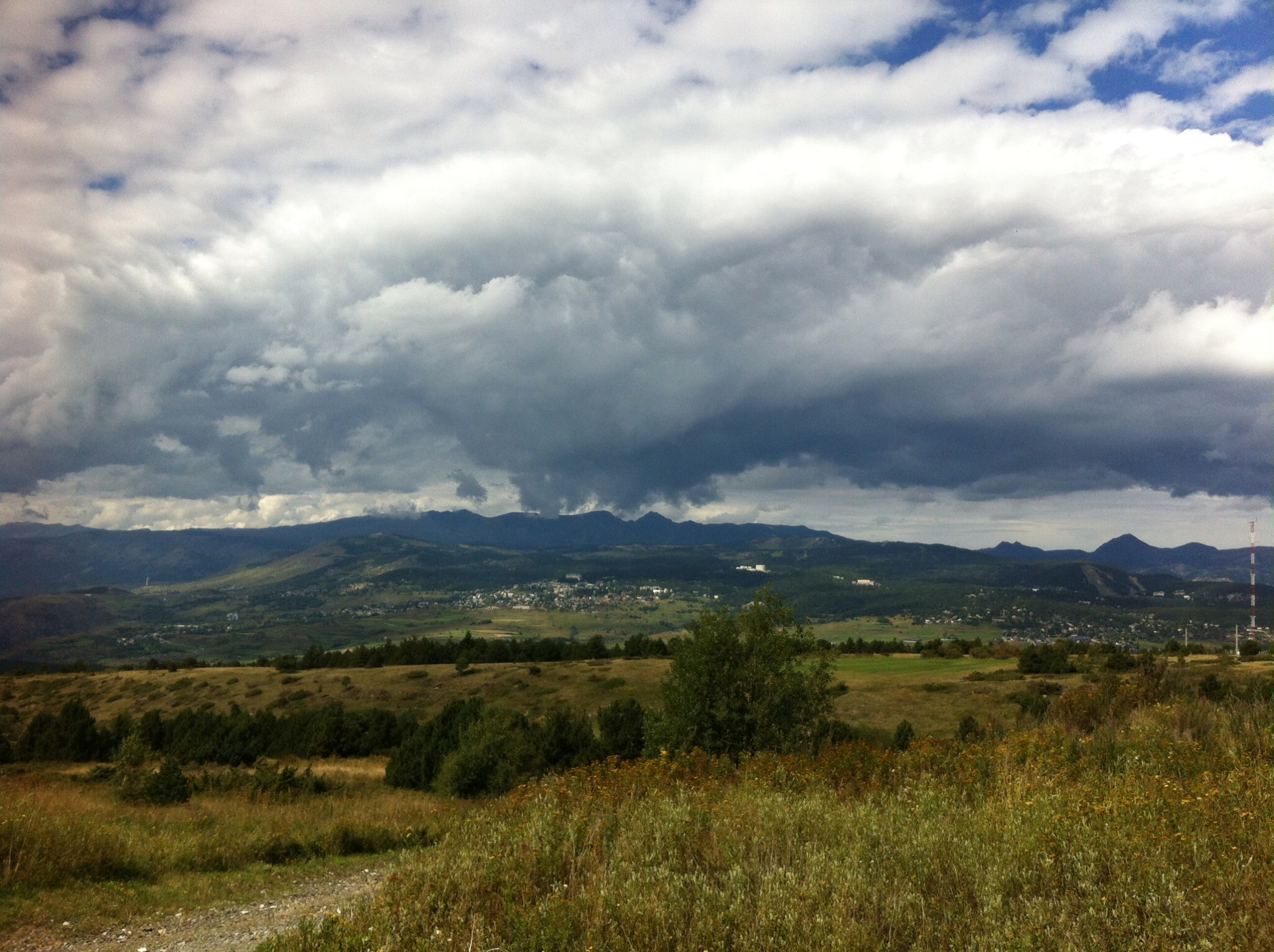 Pyranees mountains in summer