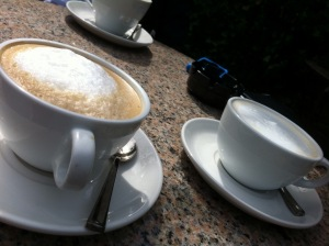 Picture of capuccino